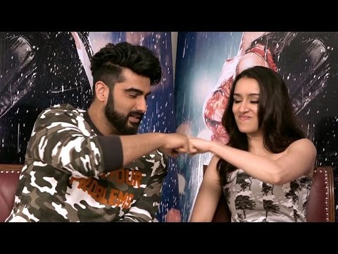 Shraddha Kapoor and Arjun Kapoor take up the COMPATIBILITY TEST