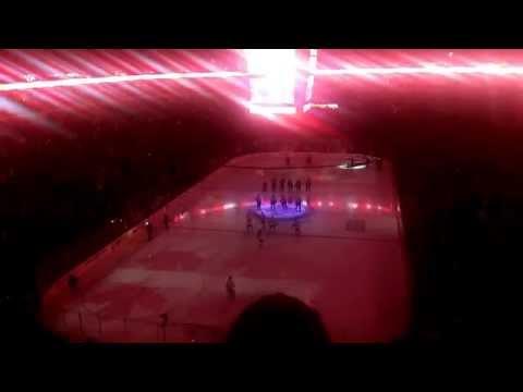 Canadian Anthem (O Canada) - (Winnipeg Jets vs San Jose Sharks, March 17, 2015)