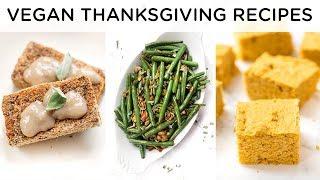 EASY VEGAN THANKSGIVING RECIPES ‣‣ quick & healthy vegan recipes