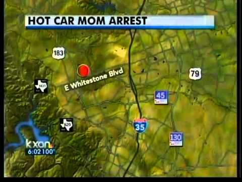 Cedar Park woman leaves child in car