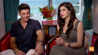 "Zac Efron and Alex Daddario, why they had to be in ""Baywatch"""