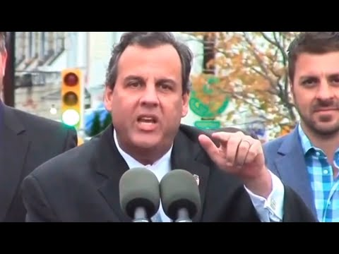 Chris Christie Loses It At Hurricane Sandy Protester