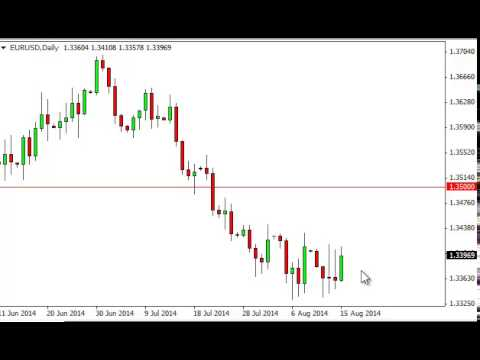 EUR/USD Technical Analysis for August 18, 2014 by FXEmpire.com