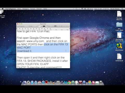 how to get FIFA 13 on mac