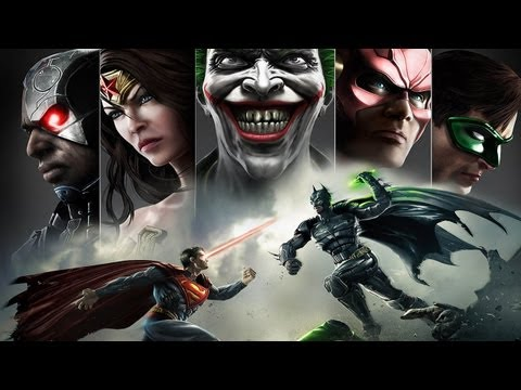 CGR Undertow - INJUSTICE: GODS AMONG US review for Nintendo Wii U