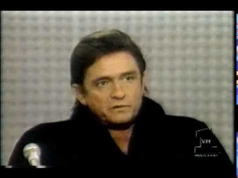 Johnny Cash interview and 'Man In Black'