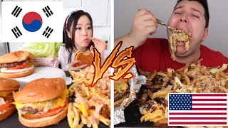 How Americans eat VS How Koreans eat
