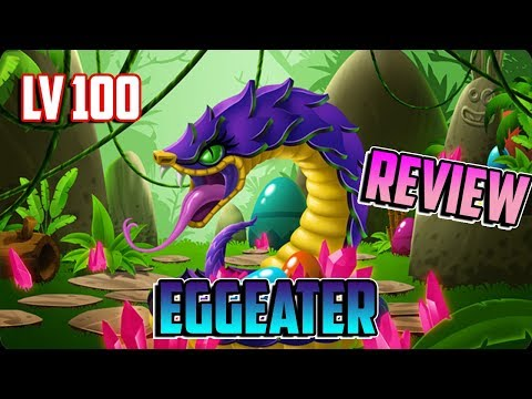 MIREN MI SERPIENTE EGGEATER LV 100 !! - Review Monster Legends
