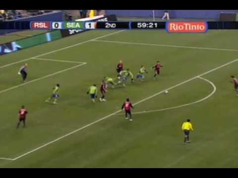 Real Salt Lake at Seattle Sounders FC 3/28/09 - Game Highlights Video