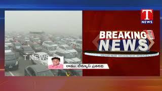 Huge Traffic Jam On Hyderabad-Vijayawada National Highway - Sankranthi Festival  Telugu - netivaarthalu.com