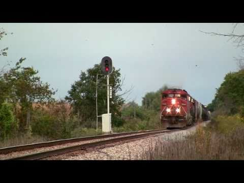 CN 5528 East, CN Freeport sub on 9-19-2010
