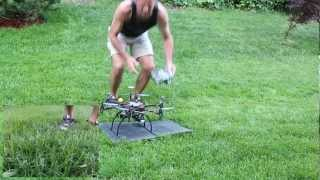 Hexacopter maiden flight