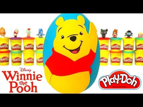 Huevo Sorpresa Gigante De Winnie Pooh En Espa Ol De