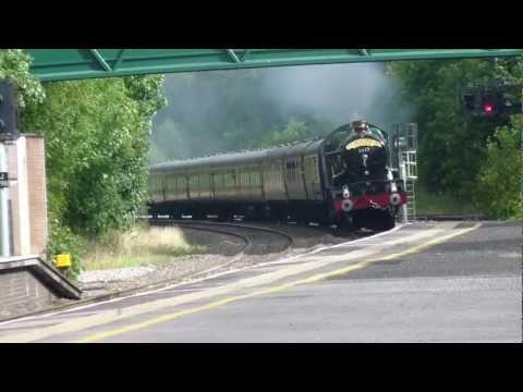The Shakespeare Express Through Dorridge Station Sun 14th August 11
