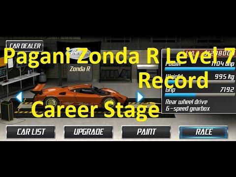 Drag Racing Pagani Zonda R Career Stage 7