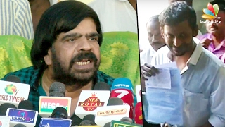 T Rajendar teasing Vishal for competing in Tamil Producer Council Election 2017