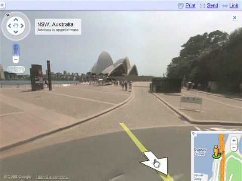 Driving Directions With Street View On Google Maps