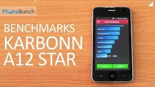 Karbonn A12 Star Benchmarks