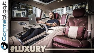 2019 Mercedes Maybach S Class Sedan S650 V12 | INTERIOR and DESIGN
