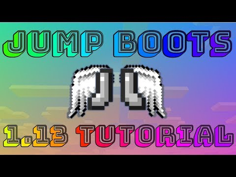 Jump Boots in Minecraft 1.13 (Tutorial)
