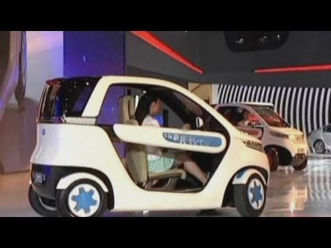 Energy-efficient 'green' cars showcased at Shanghai Auto Show