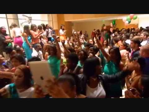 UF Alpha Kappa Alpha Spring 12 Probate - Who You Wit and Set it Off
