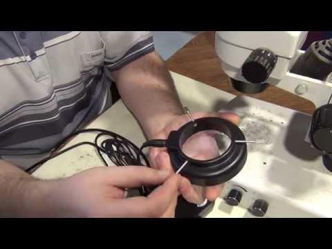 Своими руками подсветка для микроскопа