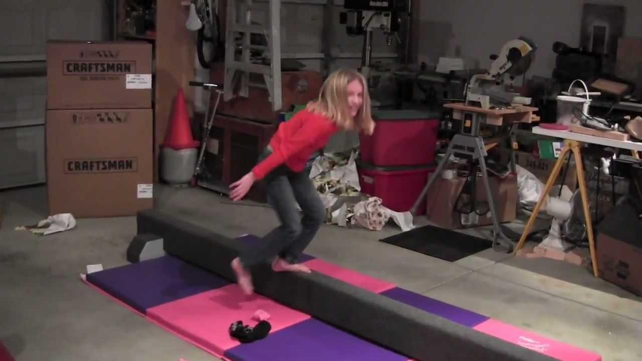 Diy Gymnastics Bar And Balance Beam Home Design
