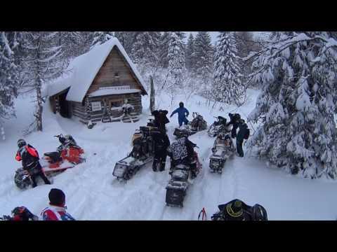 Снегоход на Южном Урале.