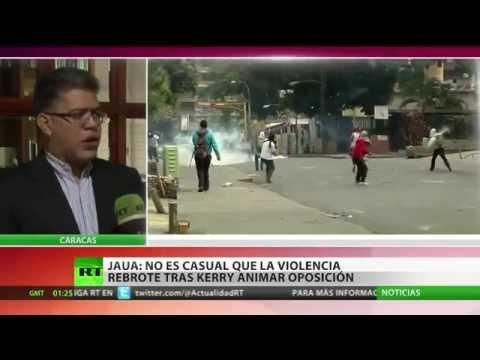 Elías Jaua a RT: