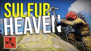 SULFUR HEAVEN! - Rust Solo Survival #5 (END)