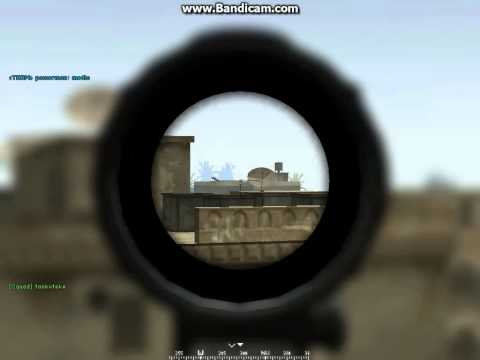 Project Reality v1.210 - Gaza Beach, One Shot, One Kill with an M4A1