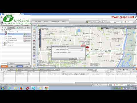 GPS Web Tracking Software-device Control