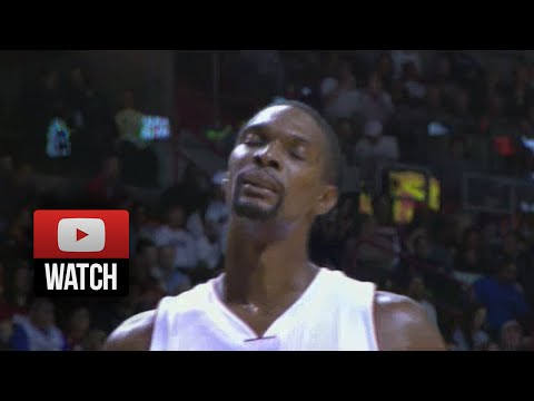 Chris Bosh Full Highlights vs Raptors (2014.11.02) - 21 Pts, 11 Reb