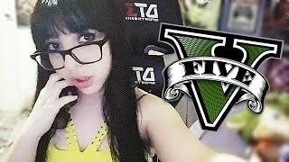 GTA V ONLINE - CORRIDAS E MUITO TIRO  (PS4)