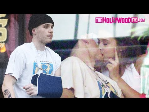 Brooklyn Beckham Passionately Kisses New Girlfriend Lexi Wood After Breaking Up With Chloe Moretz