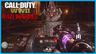 "Call of Duty: World War II Zombies ""The Final Reich""! - Tesla Gun Wonder Weapon! (WW2 Nazi Zombies)"