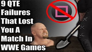 9 QTE Failures That Lost You A Match In WWE Games