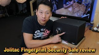 Jolitac Fingerprint Security Safe Box review