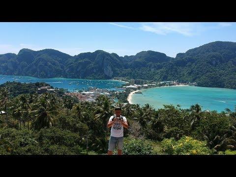 Похождения нытика на островах Пхи Пхи. Скучаю по своей таечке. DJI SPARK