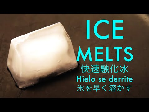 Ice Cube Melts in 10 seconds