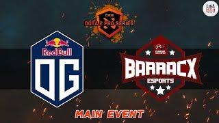 [DOTA2] OG VS PG.Barracx (BO1) - AMD Pro Series Playoff Day 1