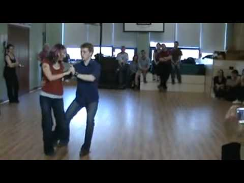 Kenny & Tiff - Blues Demo in Galway, Ireland (2009)