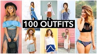 100 Outfit Ideas   Evolution of Fashion Over 3 Years!