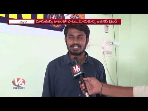 3 Young Stars Launches Rented Bike Services In Khammam  | V6 News