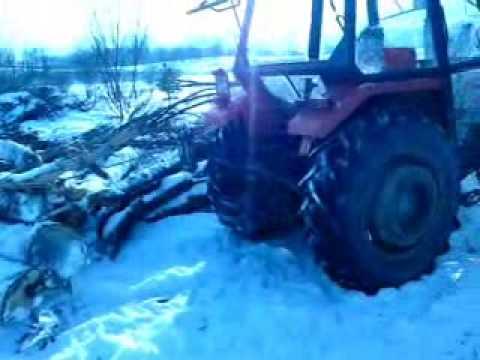 Zrywka drewna URSUS 3512