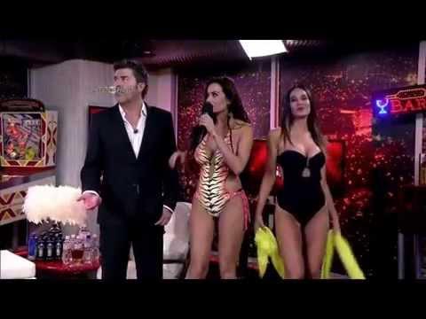 Flavia Fucenecco & Francisca Undurraga hot bikini amazing ass cleavage 11/21/14 thumbnail