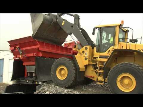 Från berg till motorväg med Swecon, Sandvik och Volvo Construction Equipment