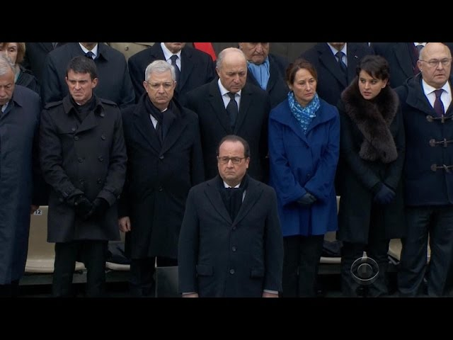 France remembers lives lost in terror attacks