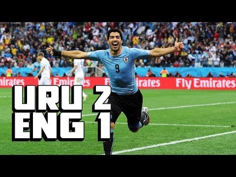 Suarez Steps Up BIG, Two AMAZING Goals [Uruguay vs. England Recap]